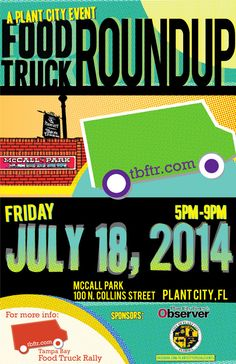 Join us and our mobile DJ truck in Plant City for deliciousness! #foodtruckrally #tampabay