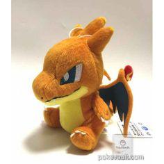 Pokemon 2016 Banpresto UFO Game Catcher Prize Mega Charizard Y Plush Toy