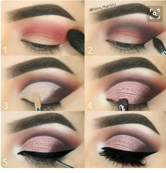 Everytime you do eye make-up, make your eyes look brighter. Your eye make-up want t… Simple Eye Makeup, Eye Makeup Tips, Smokey Eye Makeup, Makeup Goals, Skin Makeup, Eyeshadow Makeup, Makeup Inspo, Beauty Makeup, Makeup Ideas
