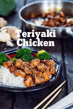 Teriyaki Chicken is one of the most delicious ways of preparing chicken for lunch or dinner with a very quick and easy method. #teriyakichicken #teriyakisauce Teriyaki Chicken, Chicken Fajitas, Grilled Chicken, Yummy Chicken Recipes, Yum Yum Chicken, Teriyaki Sauce Ingredients, Asian Recipes, Ethnic Recipes, Chicken Tikka Masala