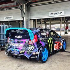 Ken Block's New 2013 Ford Fiesta Hoon Machine. Visit http://www.holmestuttle.com/