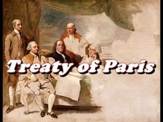 The period between the treaty of paris and war of 1812 the U.S experienced a major population boom. Modern History, European History, World History, American History, 4th Grade Social Studies, Teaching Social Studies, Treaty Of Paris, Jay Thomas, American Independence