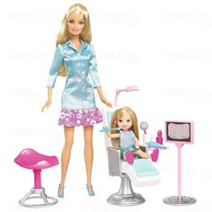 Which dental uniform do you prefer for Dr. Barbie? A) all white, or B) two colors?   Dentaltown - Dentally Incorrect