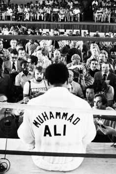 Float like a butterfly, sting like a bee... presenting the great Muhammad Ali
