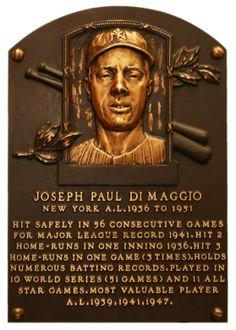 DiMaggio, Joe | Baseball Hall of Fame