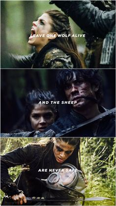 Leave one wolf alive and the sheep are never safe | Octavia Blake