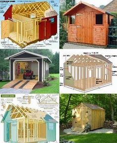 Build Your Own Storage Shed - choose the shed plan you like the best out of the group and get ready to work.