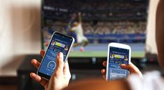 application Slamtracker sur smartphone à l'US Open