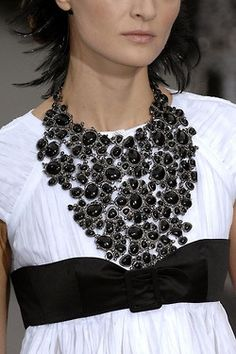 """""""Statement Necklace (ya think? lol)"""" <- That comment! Hilarious!"""