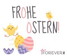 Frohe Ostern wünscht das Forever-Team!