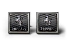 Ferrari Cufflinks   ourcufflinkshop.co.uk