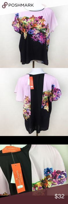 NWT CLOVER CANYON DREAM DAILY FLORAL TOP Dream Daily by Clover canyon top in size XS, fits more like a small therefore listed as such. Brand new with tags! Make an offer! ❤️ Clover Canyon Tops