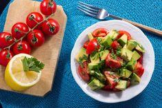 Salata avocado cu rosii cherry