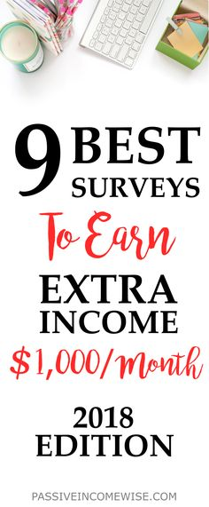 I've been doing online surveys for over 5 years already! I still remember it used to be my only source of extra income before I started blogging. The number of surveys I do depends on how much free time I have. Some months I end up making a few dollars and others hundreds (one month I got nearly $1,000). Best survey sites, make extra money, online survey sites, paid surveys
