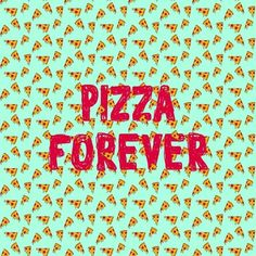 Pizza Forever Art Print ($18) ❤ liked on Polyvore featuring home, home decor, wall art, typography wall art, quote wall art and word wall art