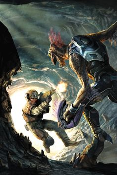 Halo: Escalation #18 by Jean Sebastien Rosrbach