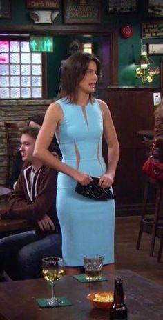 "Robin's Michael Kors Pebble Crepe Dress How I Met Your Mother Season 9, Episode 24: ""Last Forever"""