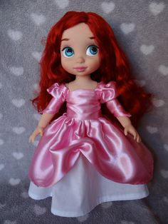 Robe de bal rose ariel Animator