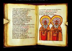 Ethiopian manuscript with illuminations, c Art History