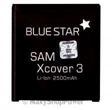 BATTERIA ORIGINALE BLUE STAR 3,8V 2500mAh PILA DI RICAMBIO AGLI IONI DI LITIO LI-ION PER SAMSUNG GALAXY XCOVER 3 G388F NUOVA - SU WWW.MAXYSHOPPOWER.COM