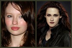 Emily Browning turned down the role of Bella Swan. -The Chive Movie Plot Holes, Stephanie Meyers, Emily Browning, Weird Gif, Twilight Series, Bella Swan, Taylor Lautner, Robert Pattinson, Kristen Stewart