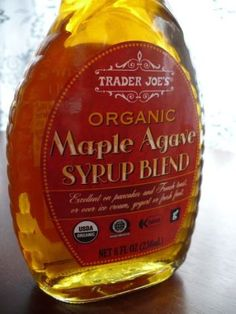 Maple Agave Syrup blend (8 fl. oz.) - $3.29