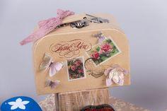Στολίζω χάρτινα κουτιά βαλίτσες! | bombonieres.com.gr