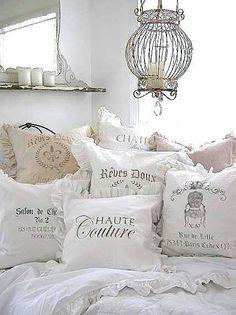 Flour sack pillows