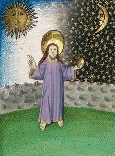 Furtmeyr-Bibel, Cod.I.3.2.III, f. 8v. (German bible, Old Testament, Band 1: Genesis - Rut), [S. l.], ca 1468-1470 -- Universitätsbibliothek Augsburg, see more here: http://www.bibliothek.uni-augsburg.de/dda/urn/urn_uba002000-uba002199/uba002001-uba002002/