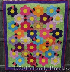 Doodlebug-Garden, new quitl pattern from the Caffeinated Quilter