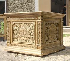 Облачение на престол, резной дуб. http://cerkovna-lavka.com/prestoly.html