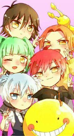 Everyone is so KAWAII except Koro-Sensei OK he has become a little cute - . - Everyone is so KAWAII except Koro-Sensei OK he has become a little cute – - Anime Chibi, Anime Kawaii, Anime Meme, Manga Anime, Fanarts Anime, Anime Art, Otaku Anime, Wallpapers Kawaii, Animes Wallpapers