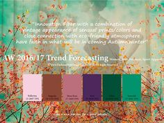 WOMEN FASHION TRENDS 2017/2018: Autumn/Winter 2016-2017 Vision & Color Trends