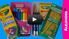 In this pencil case organization video I show you how to organize your pencil case for school! What back to school supplies do you keep in your pencil case? School Supply Storage, School Supplies Organization, Organization Hacks, Organizing School, Office Supplies, Organization Ideas, Storage Ideas, Diy Pencil Case, Pencil Boxes