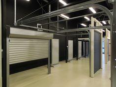 MCA Grup - Showroom Iasi Usi de Garaj