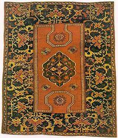 Anatolian rug, Ushak district 17th century