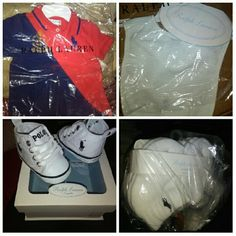 Baby items Bib, onsite, socks, shoes Polo by Ralph Lauren Other