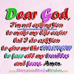 Prayer for Strength Quotes Jesus Prayer, Faith Prayer, Quotes About God, Quotes About Strength, Writing Plan, Prayers For Strength, Peace Of God, Joy Of The Lord, Power Of Prayer