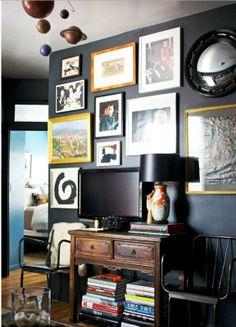 34 idées de déco pour accrocher des photos au mur | house 2 ...