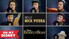"Nick Pitera Sings ""Belle"" From Beauty and the Beast (His videos just keep getting better and better!)"
