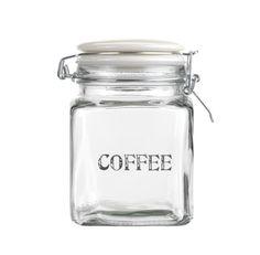 Give your coffee a new home Glass Coffee Storage Jar £6.