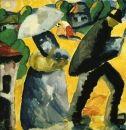 Malevich, Kasimir - Province, Suprematism, Gouache, Genre