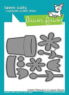 Lawn Fawn - Little Flowers Crafting Dies