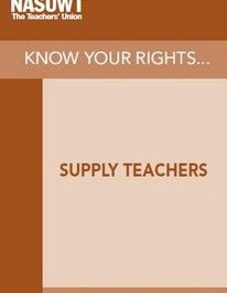 Know your rights - supply teachers