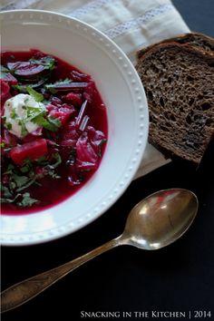Borscht ~ Russian Vegetarian Beet Soup