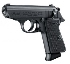 The version of the Walther PPK, the gun that inspired an entirely new category in the firearm industry, now known as the concealed carry pistol. 357 Magnum, Smith Wesson, James Bond, Walther Pp, 22lr, Revolvers, Revolver Rifle, Cool Guns, Hunting