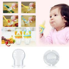 Novo bebê seguro alimentos frescos Leite Suco De Frutas Silicone Bebê Alimentação Alimentador Ferramenta Sn