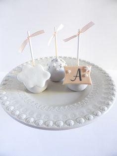 Cakepops para Batizado de Menino