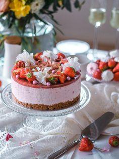 Most Delicious Recipe, Delicious Cake Recipes, Yummy Cakes, Dessert Recipes, Yummy Food, Desserts, Vegan Cake, Vegan Cheesecake, Cake Fillings
