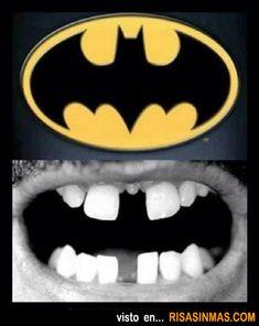 Dentadura Batman.